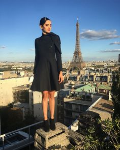 "a09bc71bffed Nina Dobrev on Instagram  ""There s no Eiffel Tower emoji.  Apple"