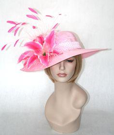 Perfect Pink! Kentucky Derby Hat by Vinzetta Millinery    www.stores.ebay.com/hatmillinery