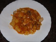 Pollo con patatas, toda la receta en www.saboreamisrecetas.com