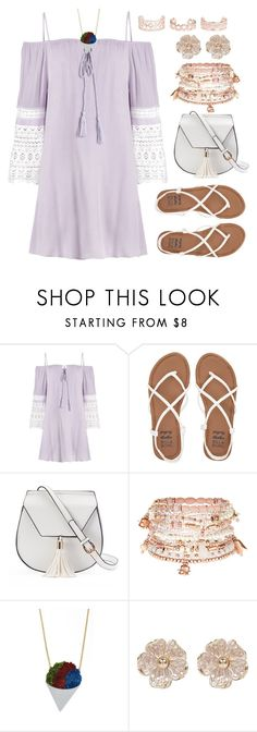"""""""Snow Cone"""" by alynncameron ❤ liked on Polyvore featuring Billabong, Yoki, Accessorize, River Island and New Look"""