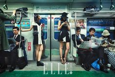 by Shin Son-hye // Elle Korea