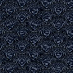 Feather Fan wallpaper - metallic blue on charcoal; Cole and Son; 6 colorways; http://www.cole-and-son.com/search_results_name.asp?productname=feather+fan&form=4&image=submit
