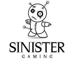 Sinister Logo design - Logo is made out of pins and needles doll. Ideal for gaming, but easily can be converted to music/film industry logo. Price $199.00 Industry Logo, Film Industry, Logo Design, Graphic Design, Music Film, Making Out, Gaming, Dolls, Fictional Characters