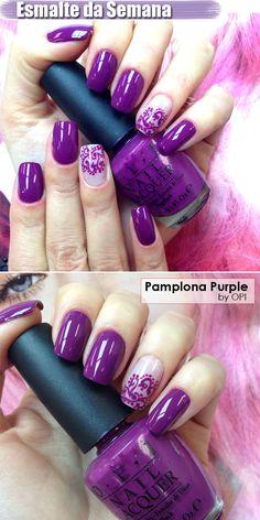 Esmalte da semana: Pamplona Purple