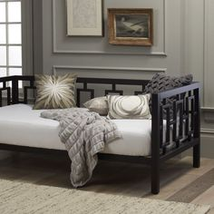 Window Daybed - Chocolate   west elm