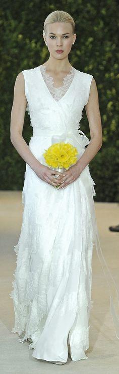 Carolina Herrera Bridal Dress Spring 2014 - Alsa