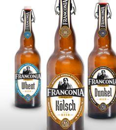 GREAT LOCAL BEER  Franconia Brewing Co. Kolsch, Wheat, Dun - mcreed