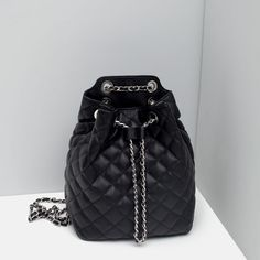 Image 6 of CHAIN BACKPACK from Zara