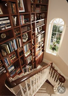 Home Library Design, Dream Library, House Design, Home Libraries, Up House, Interior Decorating, Interior Design, Design Case, Built Ins