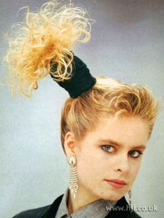 Because no. Just no. | 17 Reasons To Thank God Your Hair Isn't In The '80s Bad Hair Day, Big Hair, Crazy Hair, Teen Hairstyles, Hairstyles With Bangs, Updo Hairstyle, Worst Hairstyles, Wedding Hairstyles, Hairstyles Pictures