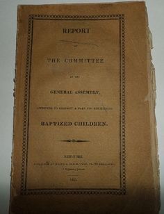 Antique 19th Century Antique 1812 Report of the by plantdeva