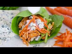 All the flavors you love from buffalo wings without all the added fat. Making shredded buffalo chicken in the slow cooker or Instant Pot is super easy!