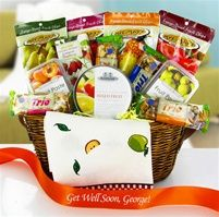 Organic chocolate gift basket healthy gourmet gift baskets buy fruit sensations gluten free gourmet snack food gift basket at the allergy blues negle Choice Image
