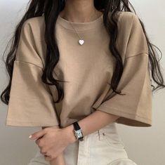 korean k fashion aesthetic outfits minimal minimal Teen Fashion Outfits, Mode Outfits, Cute Fashion, Fall Outfits, 70s Fashion, Fashion Tips, Korean Girl Fashion, Ulzzang Fashion, Cute Casual Outfits