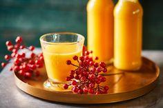 Téli immunerősítő smoothie Winter Food, Smoothies, Panna Cotta, Seasons, Drinks, Ethnic Recipes, Smoothie, Drinking, Dulce De Leche