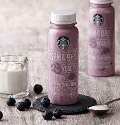Starbucks Coffee Korea - Blueberry Yogurt
