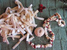 By The Bay Needleart: Wool Popcorn Garland Tutorial