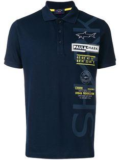 6e790aeecbb PAUL   SHARK PAUL   SHARK EMBROIDERED POLO SHIRT - BLUE.  paulshark  cloth