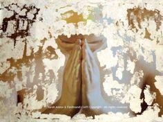 """Gratitude"" from Virtues series  FotoPainting on canvas 125x95 cm  Sarah Arensi&Ferdinando Cioffi 2013"