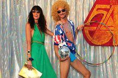Inside Renu's wardrobe: Studio 54 meets Ibiza 70s Costume, Costumes, Studio 54 Fashion, Disco Hair, 70s Party, Ibiza Fashion, Party Themes, Theme Parties, Dresses