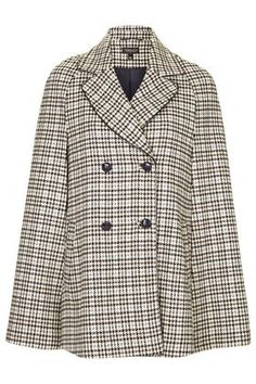 Heritage Check Vinyl Cape