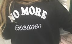 "I wore this jacket over the weekend for Easter service at Vous Church. It reads ""No More Excuses"" and it couldn't be more fitting as a motivational mantra for entrepreneurs. Because if you have a dream and can't stop thinking about it, you're not going to get it done by sitting on your couch and..."