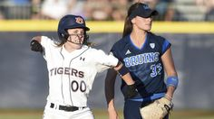 AUBURN WINS WILD ONE AT THE WORLD SERIES - May 30, 2015 - Auburn beat UCLA 11-10 in 10 innings at the softball College World Series in a game that took more than four hours to play. Auburn advanced to a noon game against Florida on Sunday. The Tigers need to beat the Gators twice Sunday to advance in the tournament.