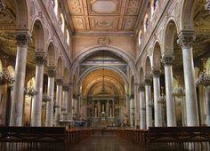 Iglesia de la Recoleta Domínica Interior - Chile