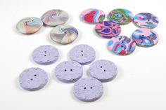 Fancy or plain, simple or complicated, many of us like to make polymer clay buttons. Able to be made in endless colors and be made in any shape or with any texture, polymer clay buttons are a natur...