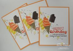 Another Cool Treats card for you today and a little video. This is by far my favorite card ... so far ... with this set.             Cardst...