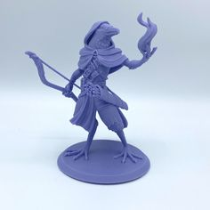 3D Printable Kenku Rogue by Alison taylor Twitch Channel, Print Pictures, Rogues, Character Art, Sculpting, Printables, Models, 3d