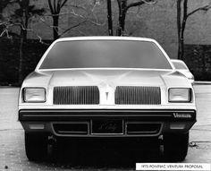 OG | 1975 Pontiac Ventura Proposal - X Body | Full size clay model.