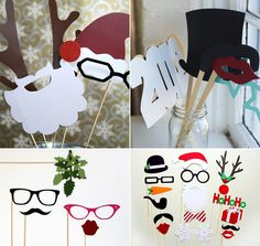 Photo Booth Props - fun for any party!
