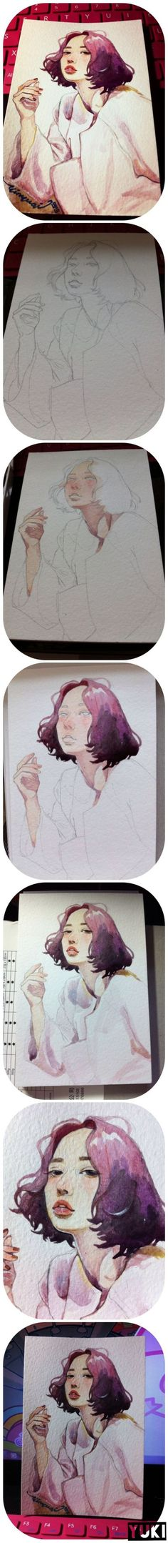 Watercolor painting