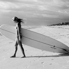 Surfer Annie Bacon