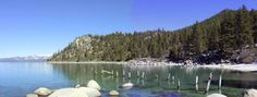 Lake Tahoe Beaches | Skunk Harbor- This is an easy hike and the road is stroller friendly.
