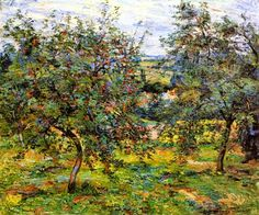 Armand Guillaumin 1841-1927 | Orchards in Ile-de-France