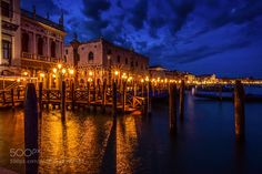 Doge's Palace By Nightfall by johnny70.