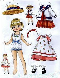 НАША СТРАНА МАСТЕРОВ: Бумажные куклы