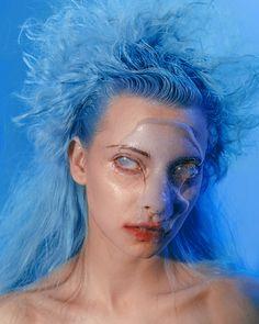 Beauty Story VAMPIRE by Kamilla Hanapova #vampire #dark #fashion #editorial #futuristic Futuristic Fashion Editorial, Vampire Stories, Adobe Photoshop Lightroom, Makeup Art, Halloween Face Makeup, Behance, Photoshoot, Model, Photography