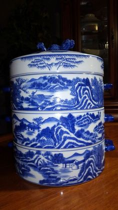 Willow Pattern Generous Small Willow Pattern Drinking Bowl Unmarked Fashionable Patterns