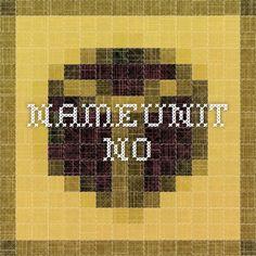 nameunit.no
