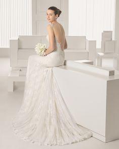Silvia vestido de novia Rosa Clara