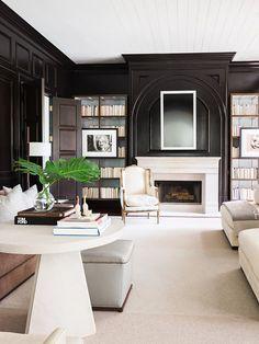 Alyssa Rosenheck Interior Photography for Elle Decor Living Room Designs, Living Room Decor, Living Spaces, Elle Decor, Design Salon, Design Design, Design Trends, Villa, Bookshelf Styling