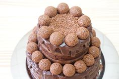 Naked cake de brigadeiro belga!