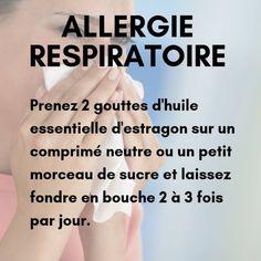Allergie respiratoire et huile essentielle estragon
