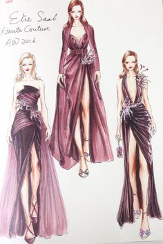 ELIE SAAB Haute Couture Autumn Winter 2016-17 by @jianlin_huang| Be Inspirational ❥|Mz. Manerz: Being well dressed is a beautiful form of confidence, happiness & politeness