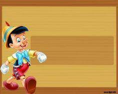 Pinocho Plantilla PowerPoint es undiseño que fue creado con el persojane de Disney PINOCHO