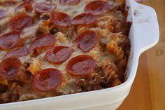 Back-to-School Pizza Casserole