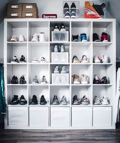 How many sneakers do you see?